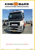Volvo FH Series 4 Bullbar Fitting