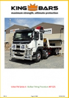 Volvo FM Series 4 Bullbar Fitting