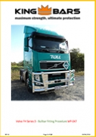 Volvo FH Series 3 Bullbar Fitting