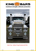 Mack Titan-Superliner Bullbar Fitting - 2008+