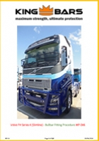 Volvo FH Series 4 Slimline Bullbar Fitting